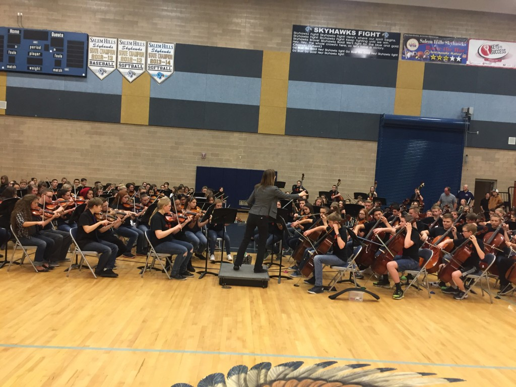 Spanish Fork Junior High Orchestra Christmas Concert 2021 Spanish Fork Junior High Spanish Fork Utah Give A Note Foundation